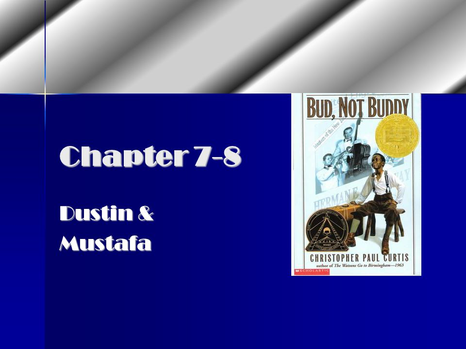 Bud, Not Buddy Review 3rd Hour Mrs  Cavanaugh - ppt video