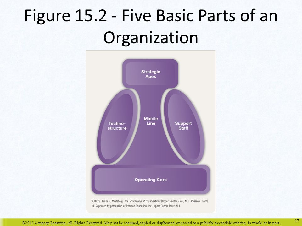 Figure Five Basic Parts of an Organization