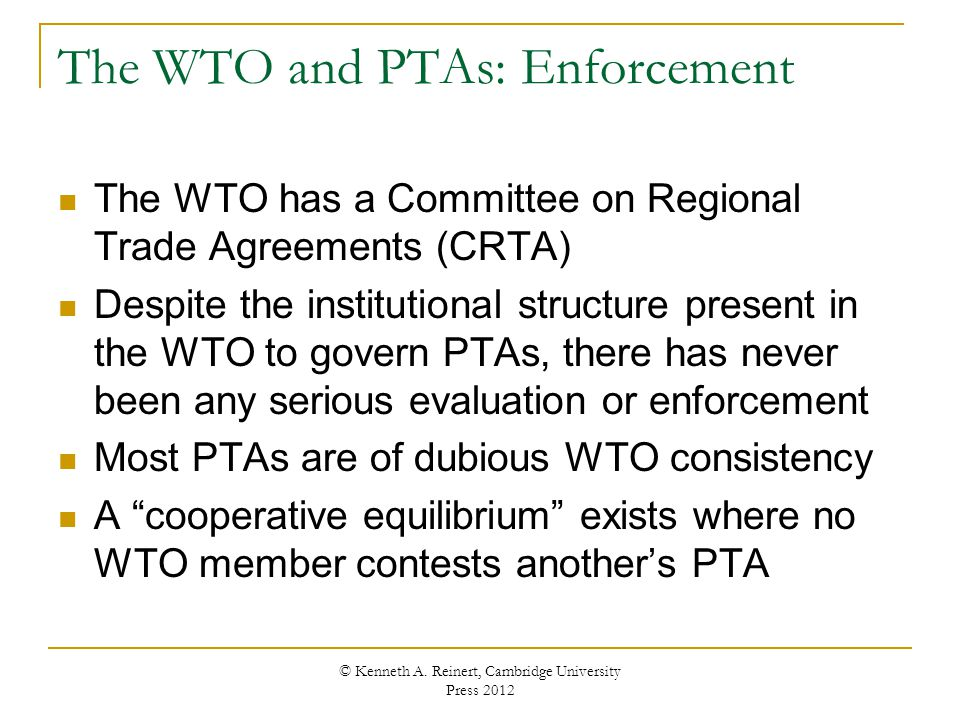 Chapter 8 Preferential Trade Agreements Ppt Download