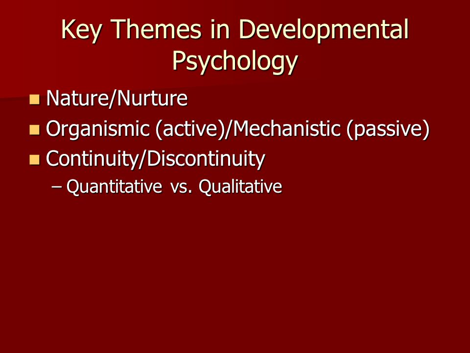 essay on human development psychology 5 reasons to study human development why developmental psychology is important   developmental psychology courses are often required for many college majors,.