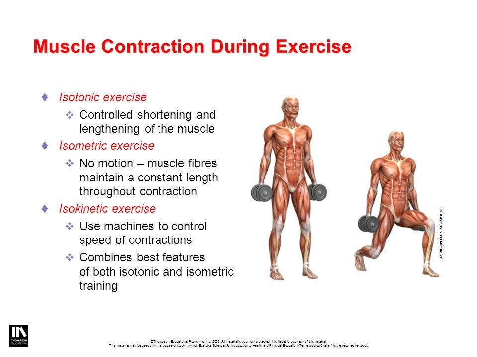 Muscle Contraction Isokinetic Exercise ✓ Volkswagen Car