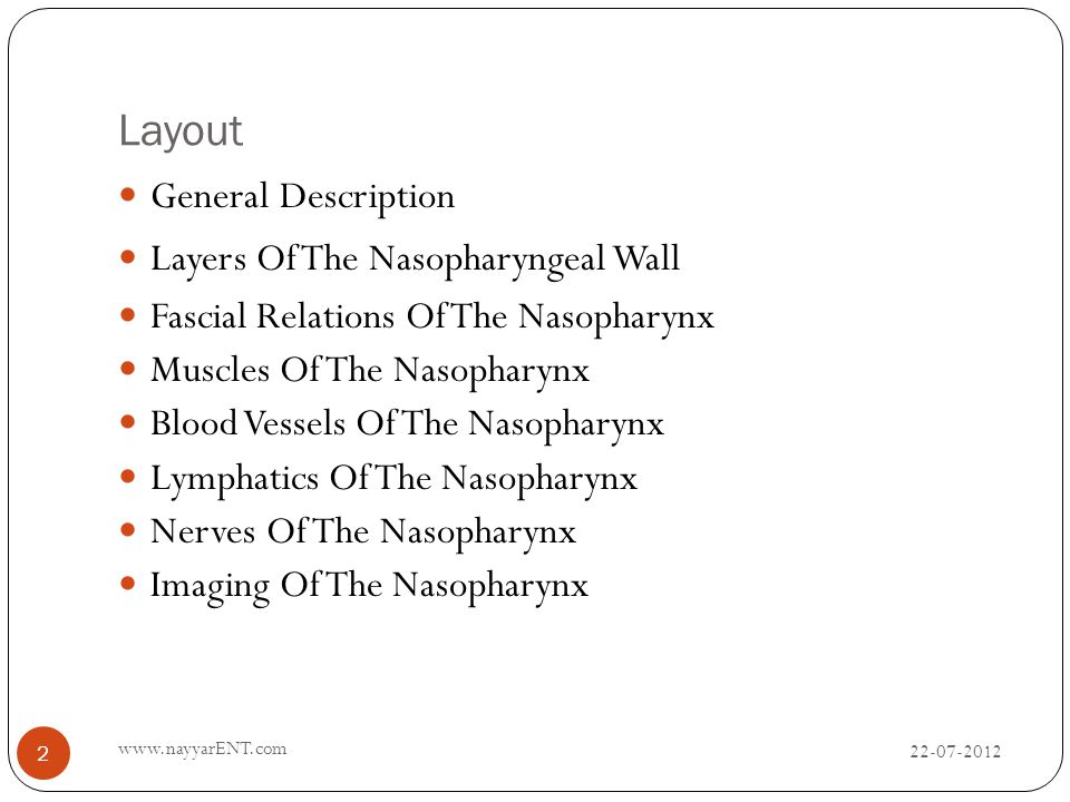 Surgical Anatomy Of The Nasopharynx Ppt Video Online Download
