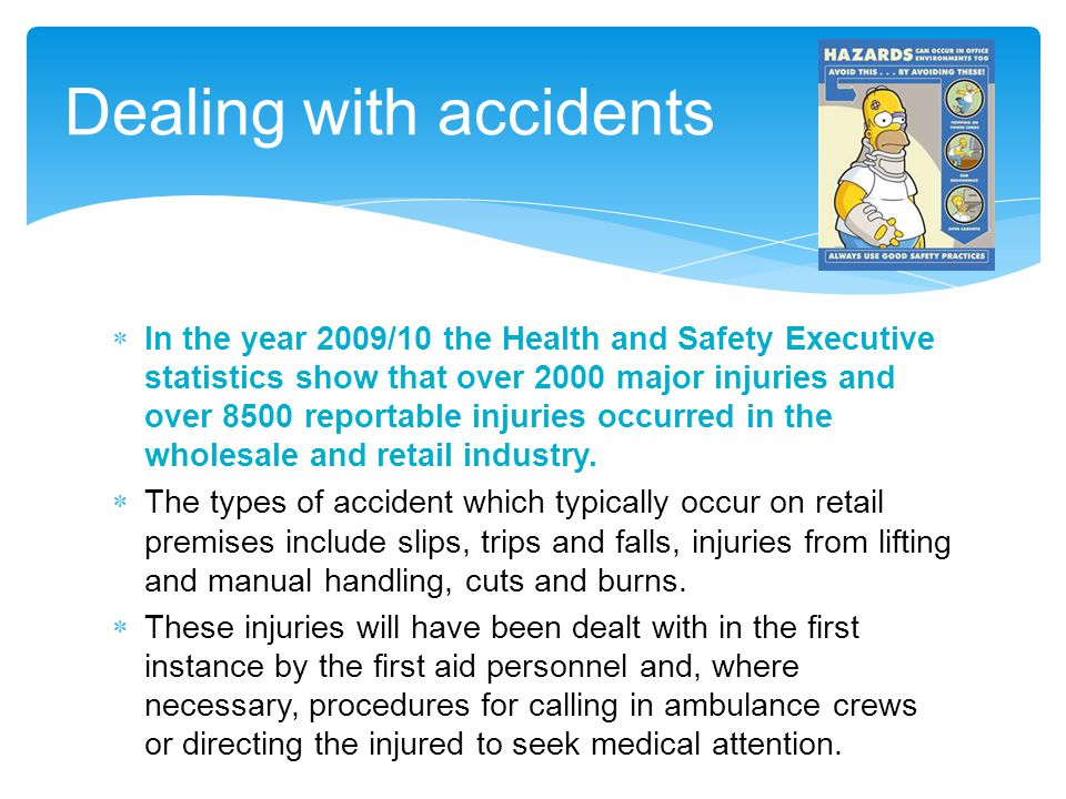 Dealing with accidents