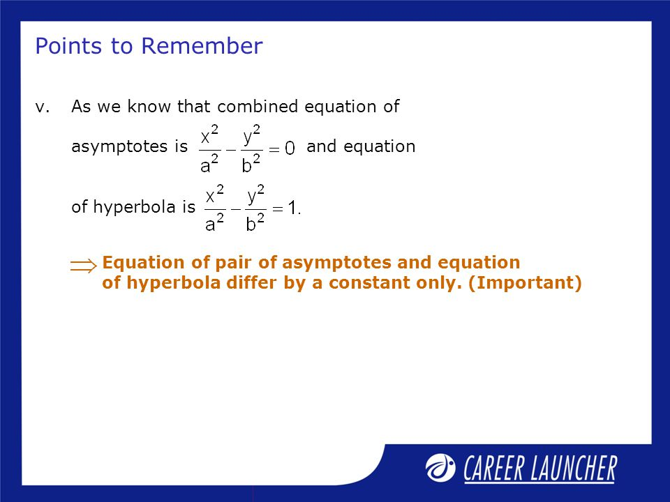 how to solve asymptotes equation