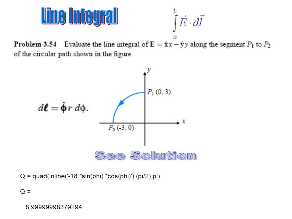 Matlab Integral TRAPZ(x,y) QUAD(FH,A,B) - ppt video online