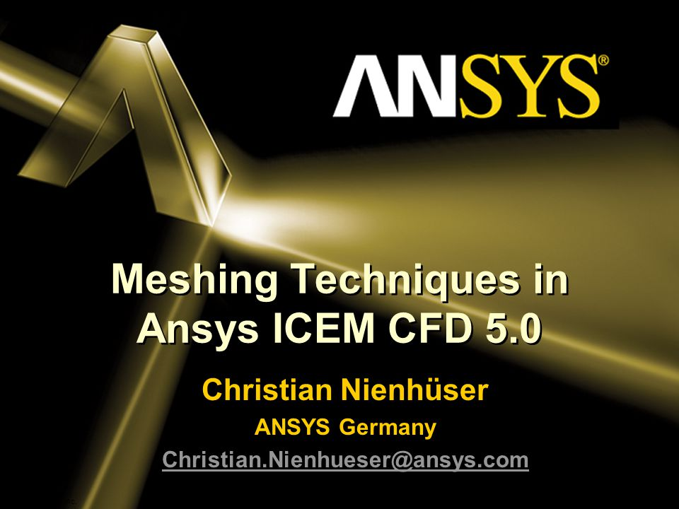 Meshing Techniques in Ansys ICEM CFD ppt download