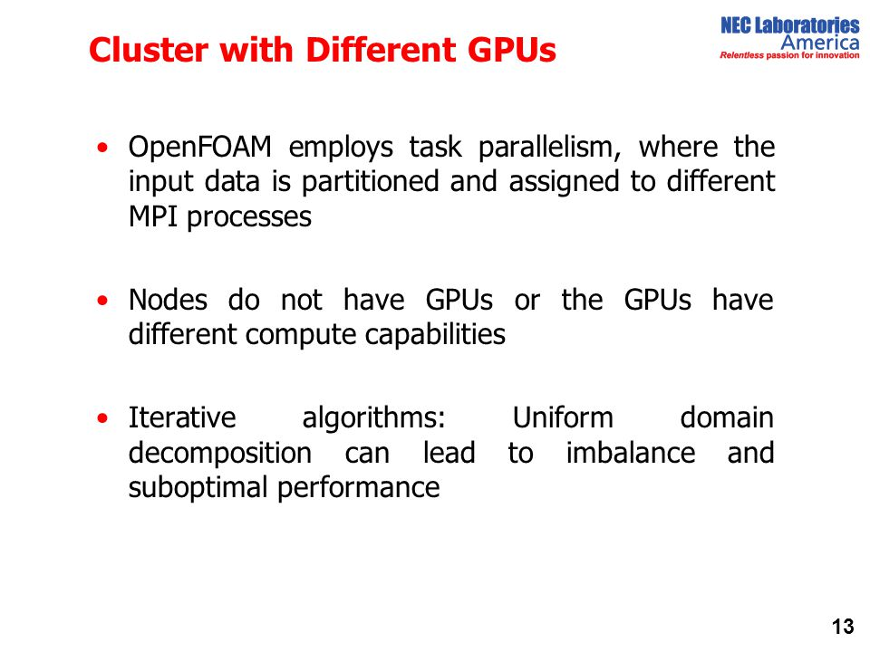 Cluster with Different GPUs