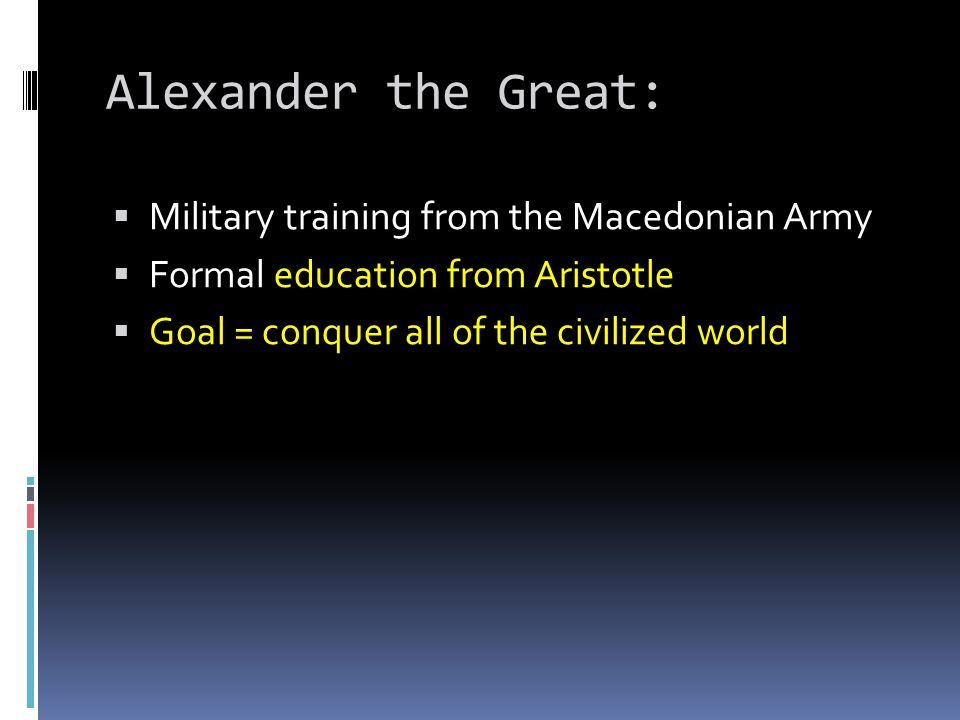 Alexander the Great: Military training from the Macedonian Army