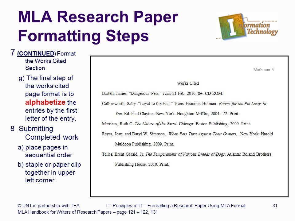 mla citation in a research paper If you are in college and you are writing research papers, then you are most likely basing your formatting on this, the mla handbook for writers of research papers now, when i say research papers i mainly mean papers for english comp, literature, history, political science.