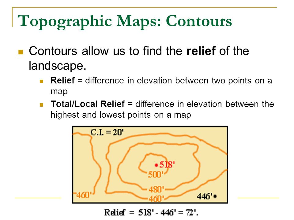 Topographic Maps Lab Ppt Video Online Download