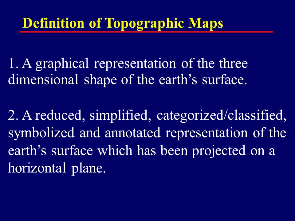 Earth Science – Unit 1.1 Reading Topographic Maps - ppt download on