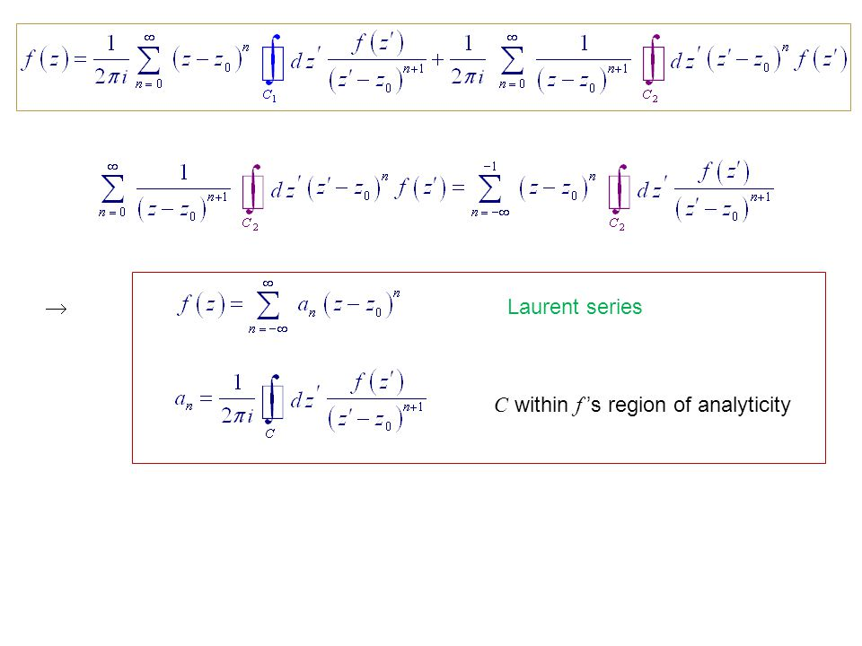 11  Complex Variable Theory - ppt video online download
