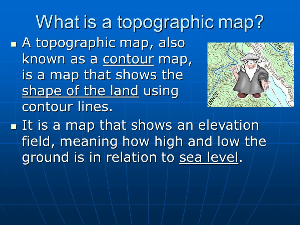 Meaning Of Topographic Map.Topographic Maps Created By T Bates Hugo A Owens Middle School