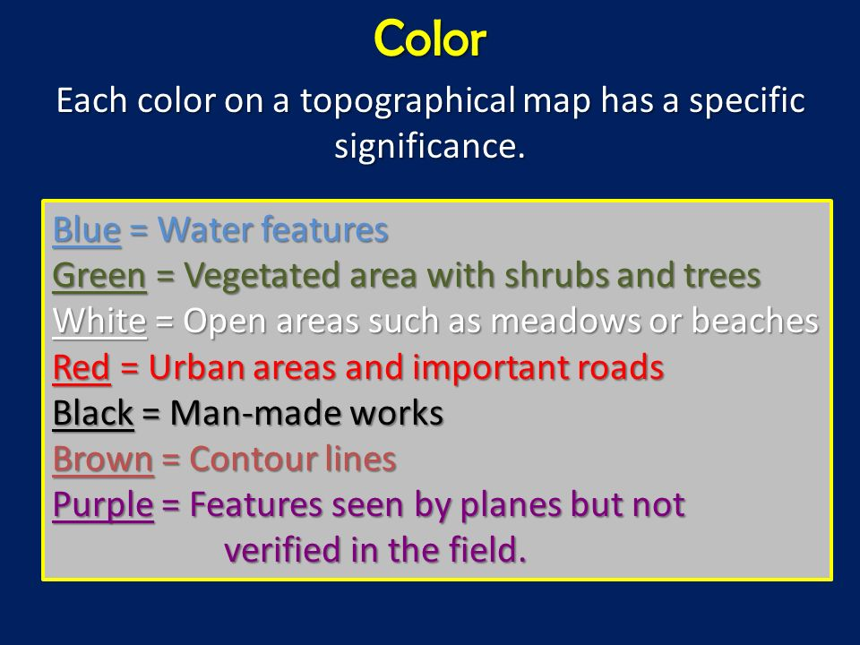 Topographical Maps Ppt Video Online Download