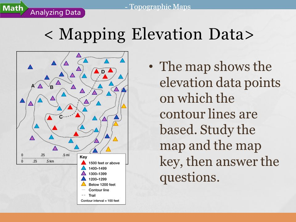 Topographic Maps Ppt Download