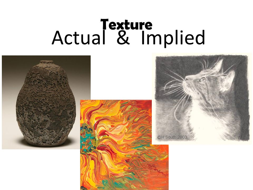 Texture Actual & Implied