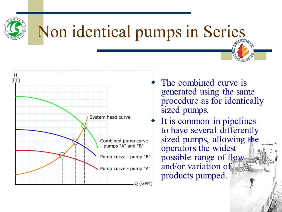 Non identical pumps in Series