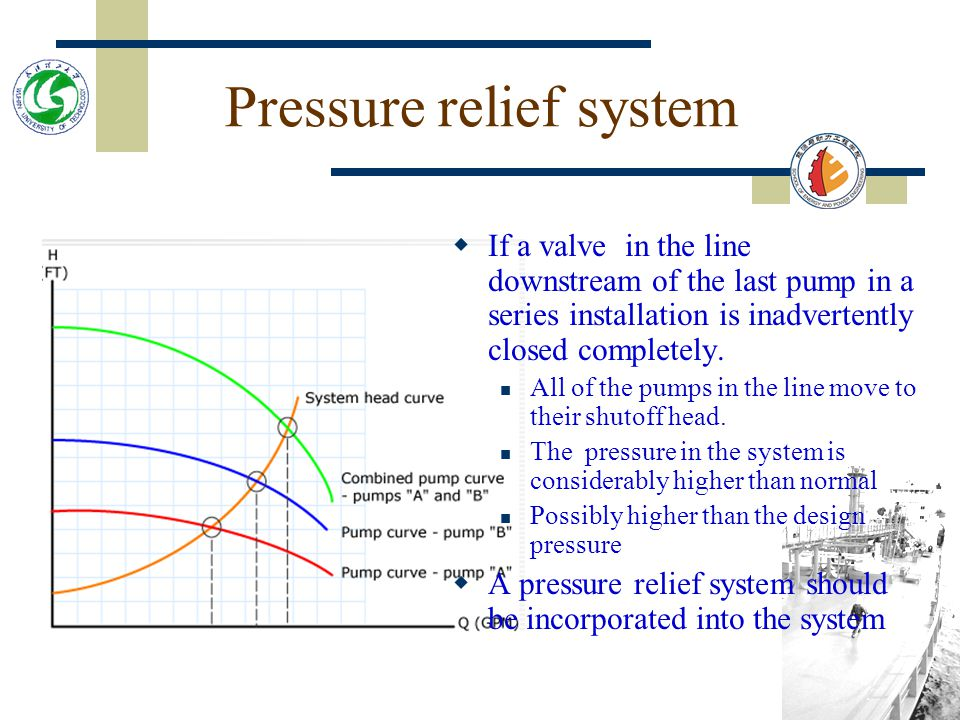 Pressure relief system