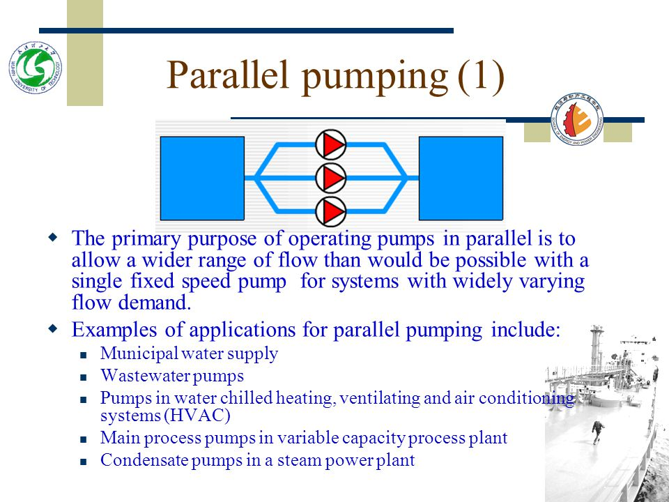 Parallel pumping (1)