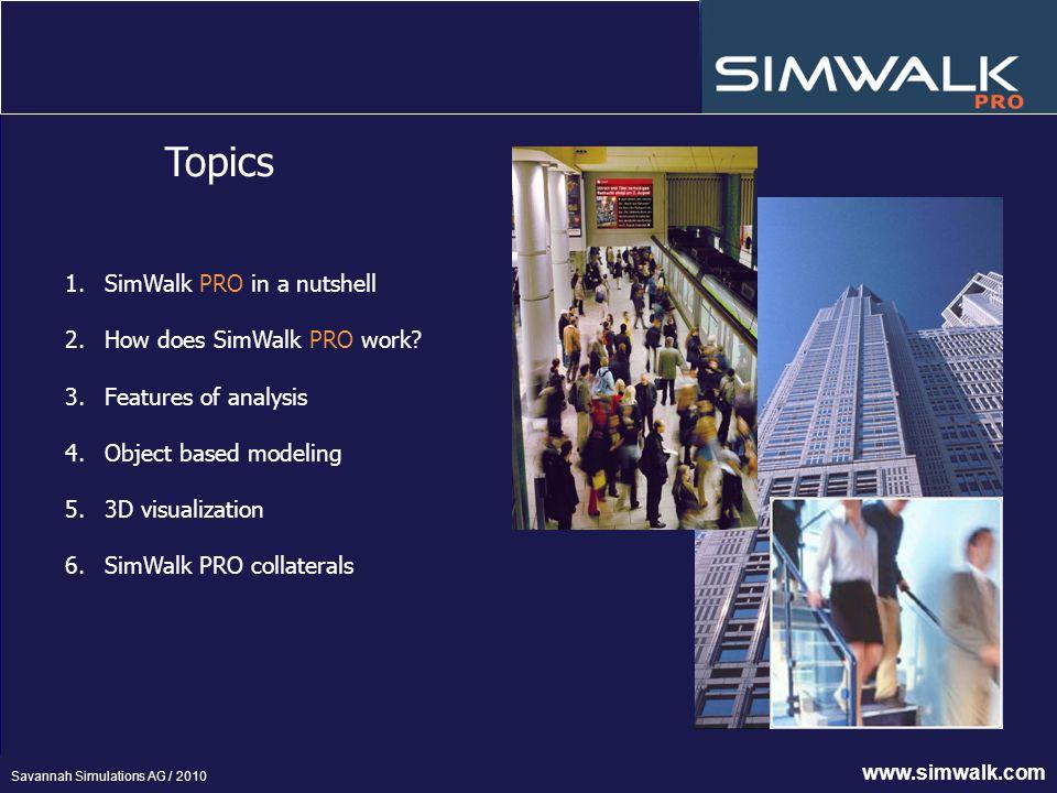 SimWalk PRO – Pedestrian simulation software for urban