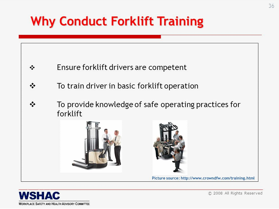 Safe Operation Of Forklift Metalworking Industries Ppt Video