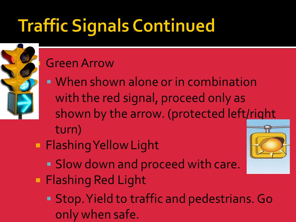 Traffic Signals Continued