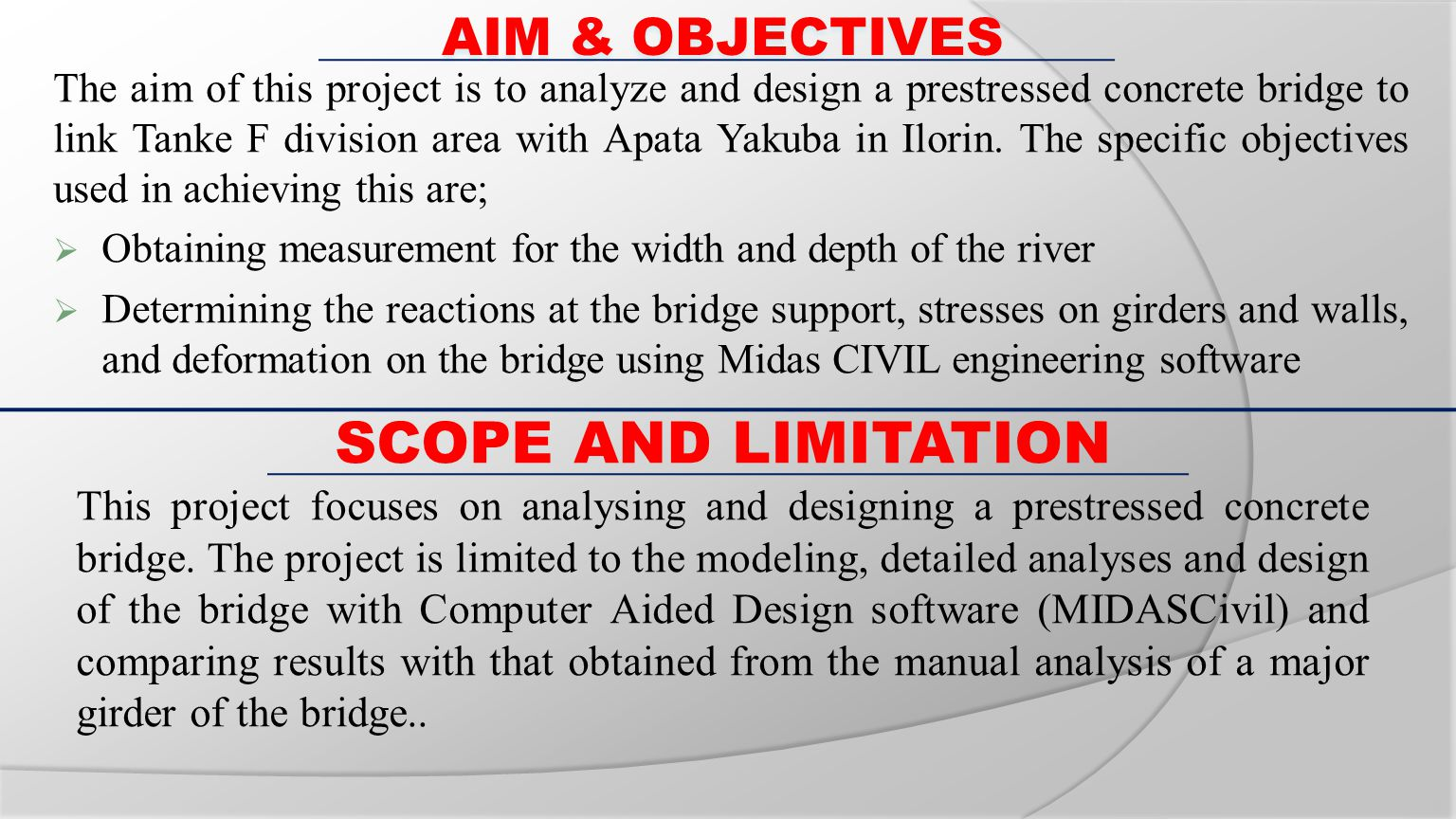 ANALYSIS AND DESIGN OF PRESTRESSED CONCRETE BRIDGE - ppt video