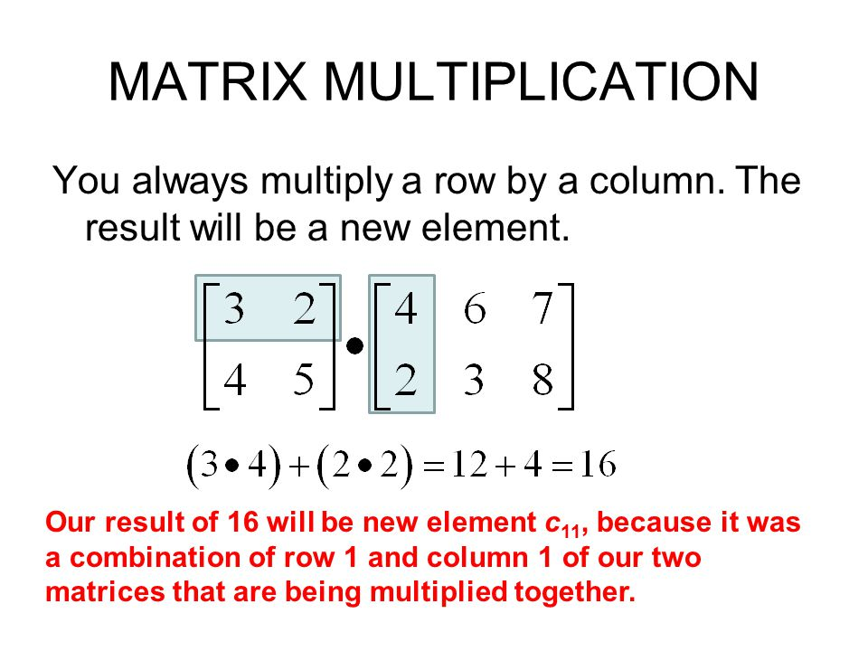 Section 4 2 – Multiplying Matrices Day 2 - ppt video online download