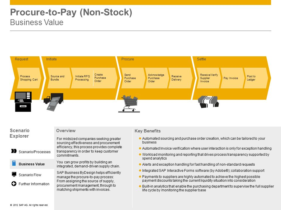 Procure-to-Pay (Non-Stock) Business Value