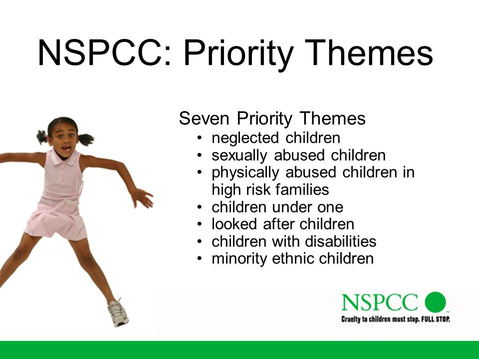 NSPCC: Priority Themes