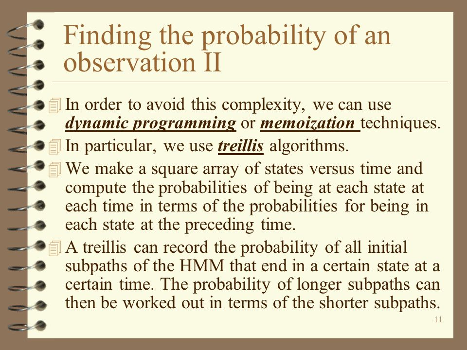 Finding the probability of an observation II