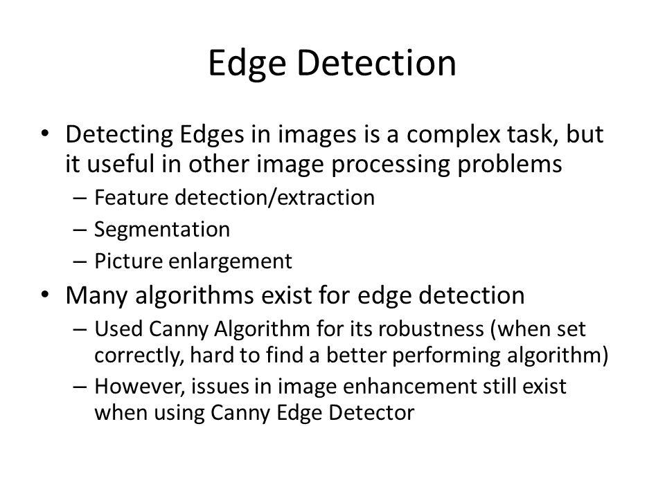 Edge Detection Enhancement Using Gibbs Sampler - ppt video