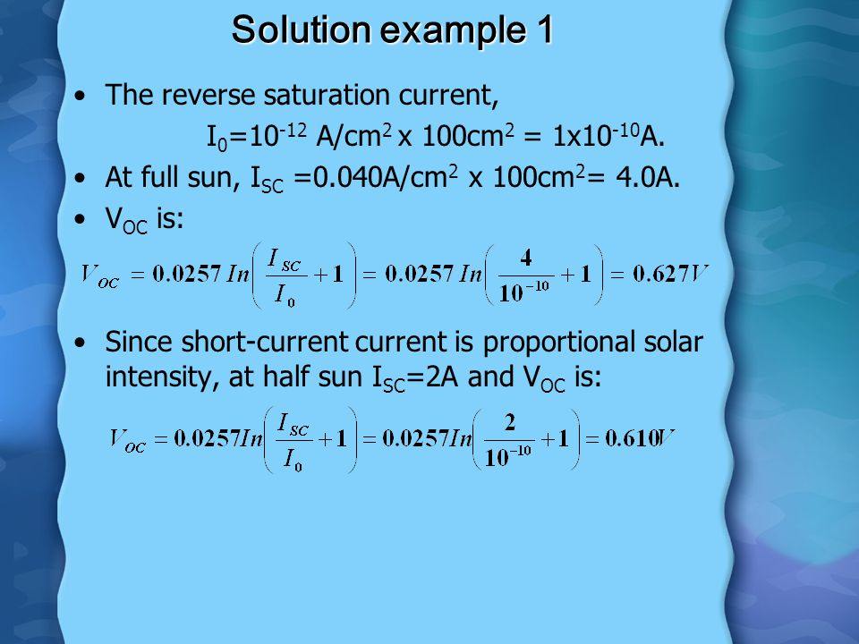 LECTURE 4: RENEWABLE ENERGY - ppt download