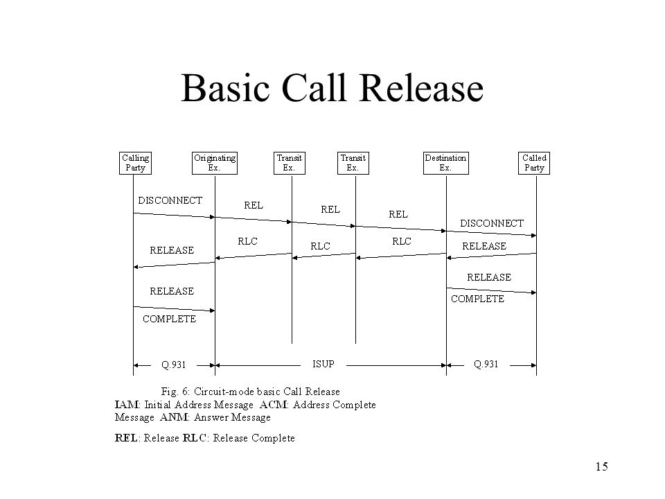 Basic Call Release