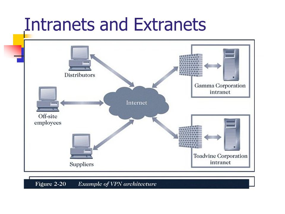 Intranets and Extranets