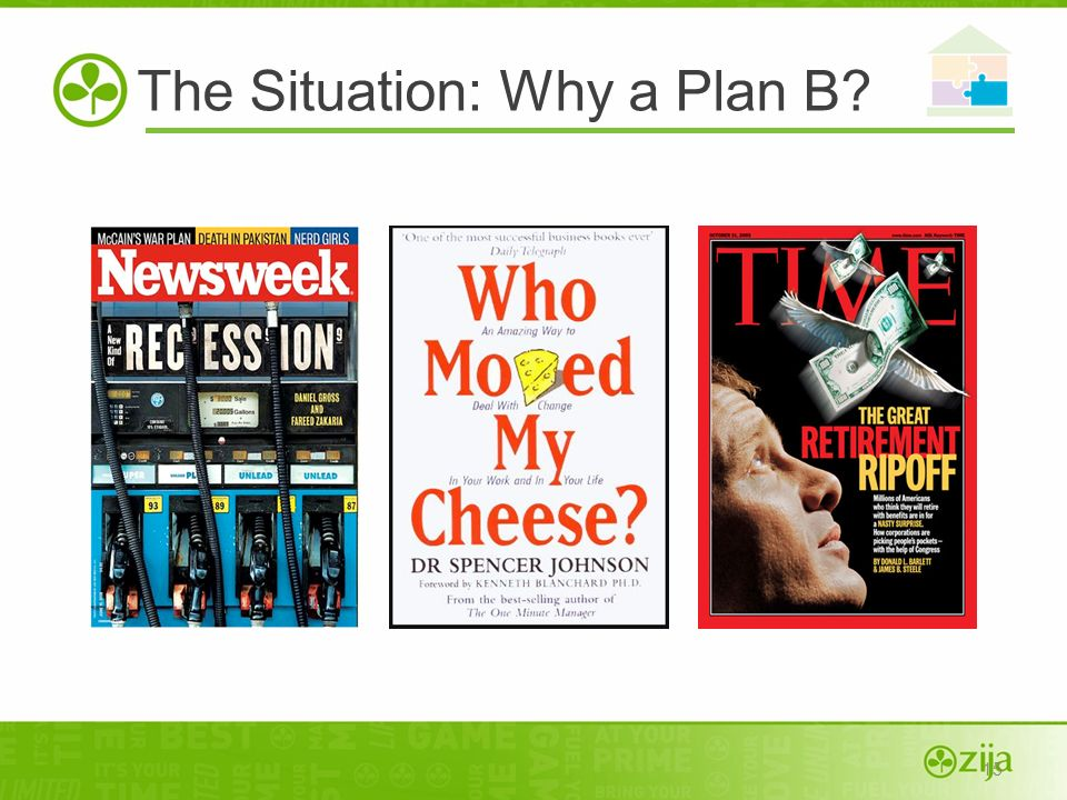 The Situation: Why a Plan B