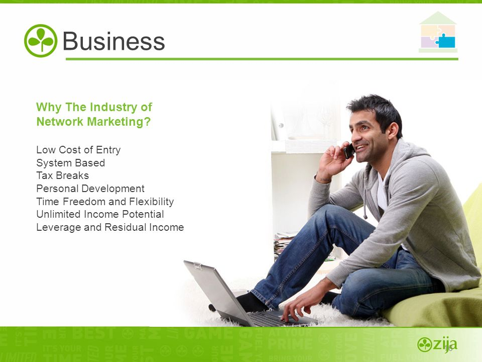 Business Why The Industry of Network Marketing Low Cost of Entry