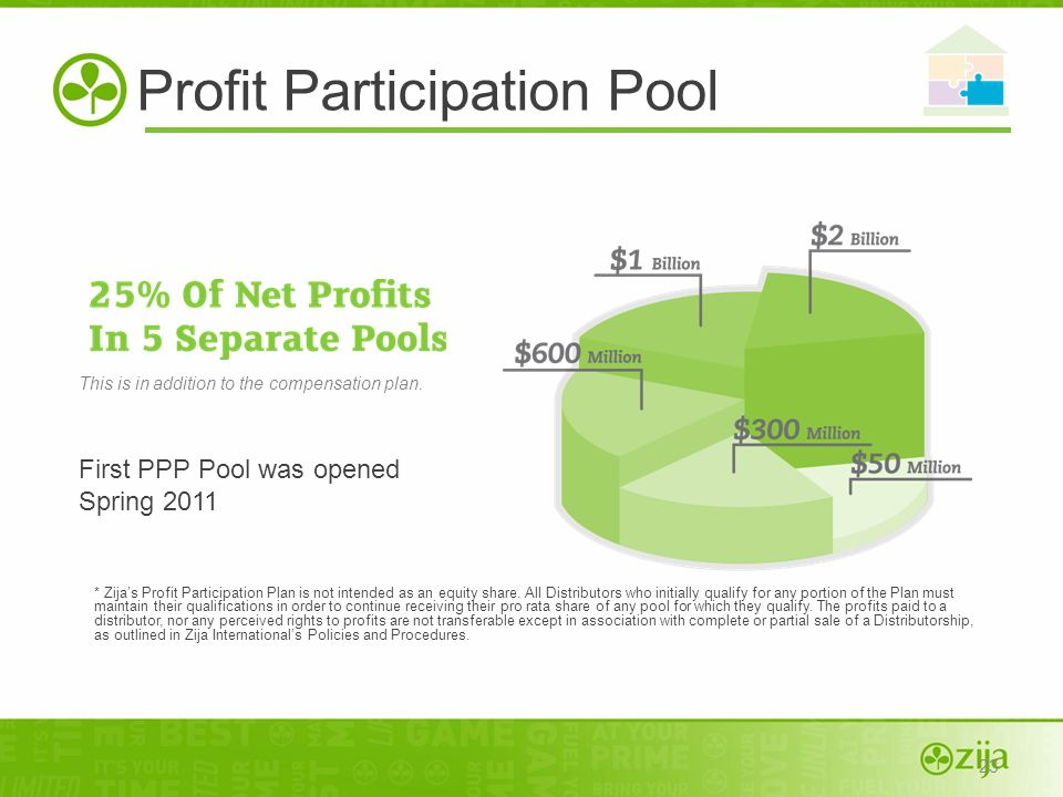 Profit Participation Pool