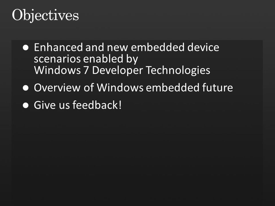 "Windows Embedded ""Quebec"": Developing For Devices - ppt download"