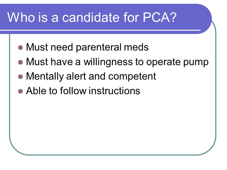 Pca Glasgow Coma Scale Canadian Neurological Stroke Scale Ppt