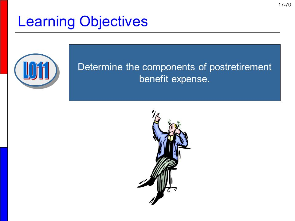 Determine the components of postretirement benefit expense.