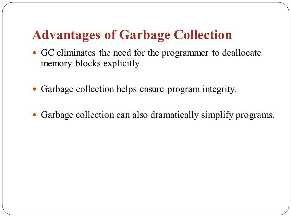 disadvantages of garbage