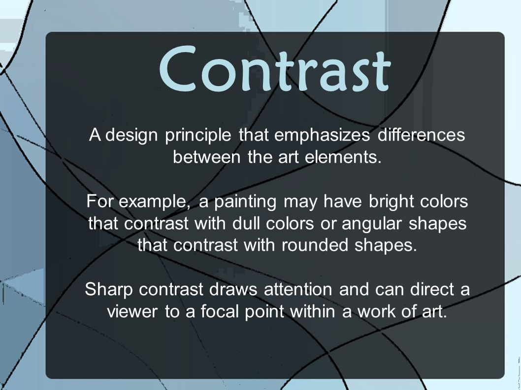 Line The Art Element : Principles of composition ppt video online download