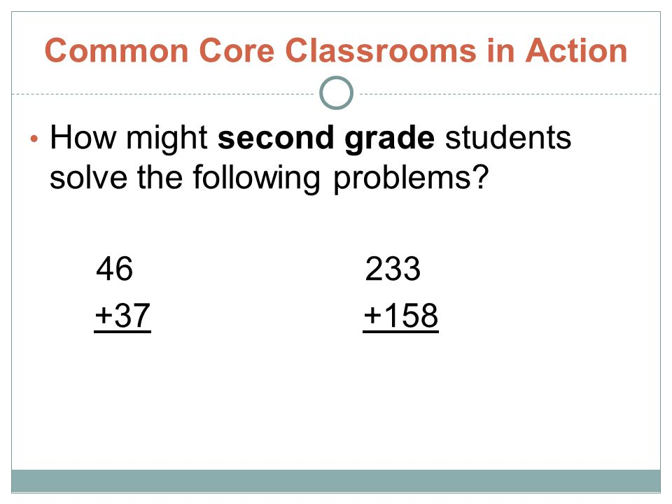 Common Core Classrooms in Action