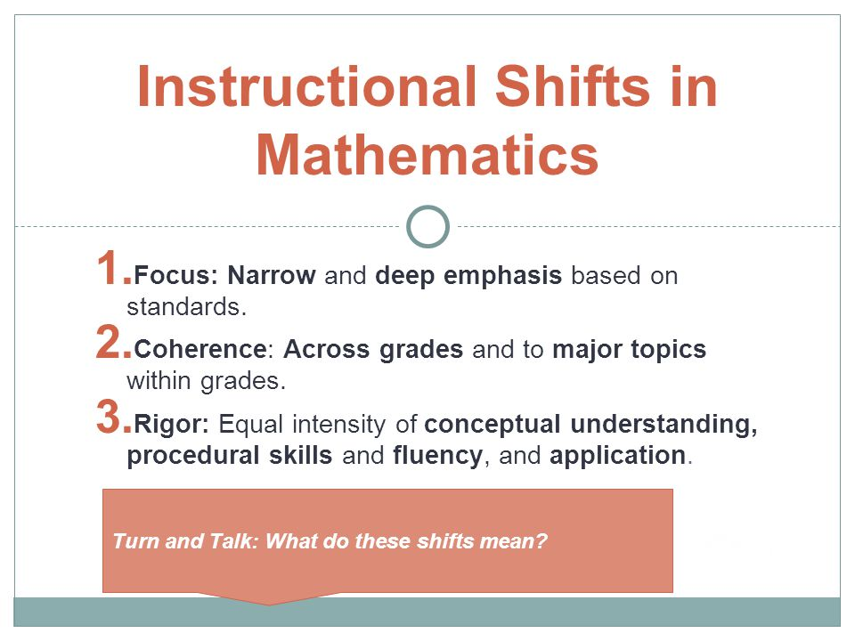 Common Core State Standards In Mathematics Ece 5 Ppt Video Online