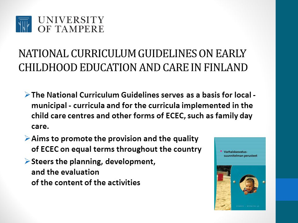Early Childhood Education And Care Ecec >> Early Childhood Education And Care In Finland Ppt Video Online