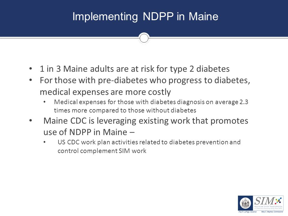 Implementing NDPP in Maine