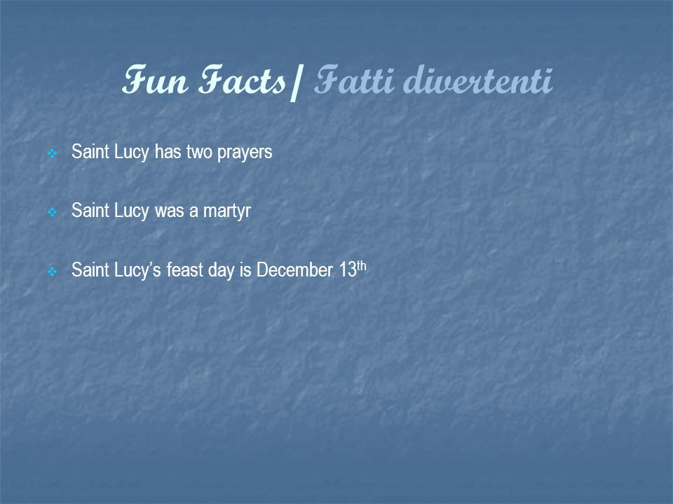 Saint Lucy Of Syracuse Ppt Download