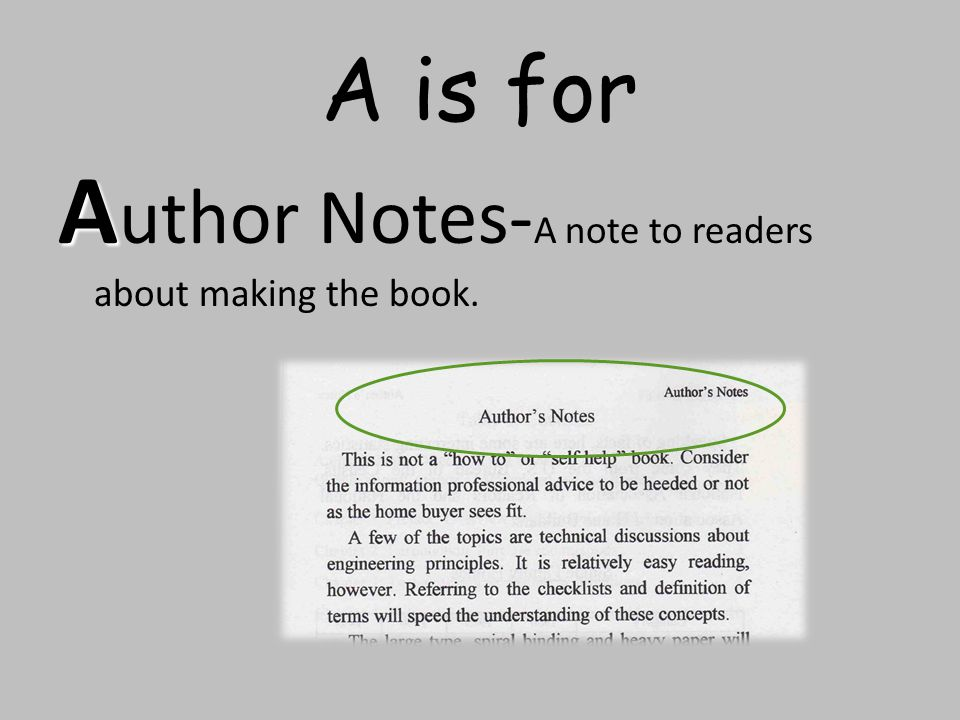 Author Notes-A note to readers about making the book.