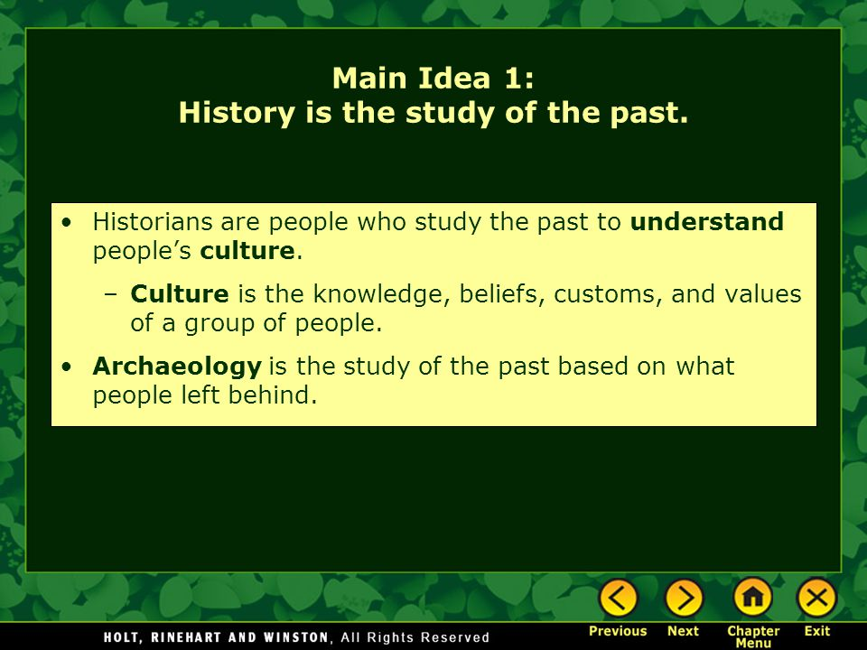 Chapter 1 Uncovering The Past Ppt Video Online Download